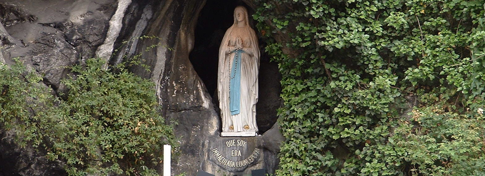 HOPING FOR A MIRACLE AT LOURDES