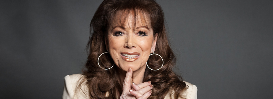 Jackie Collins Visits The Edge and Dishes About Everything